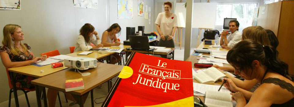 Französisch für Juristen am Campus International Cannes